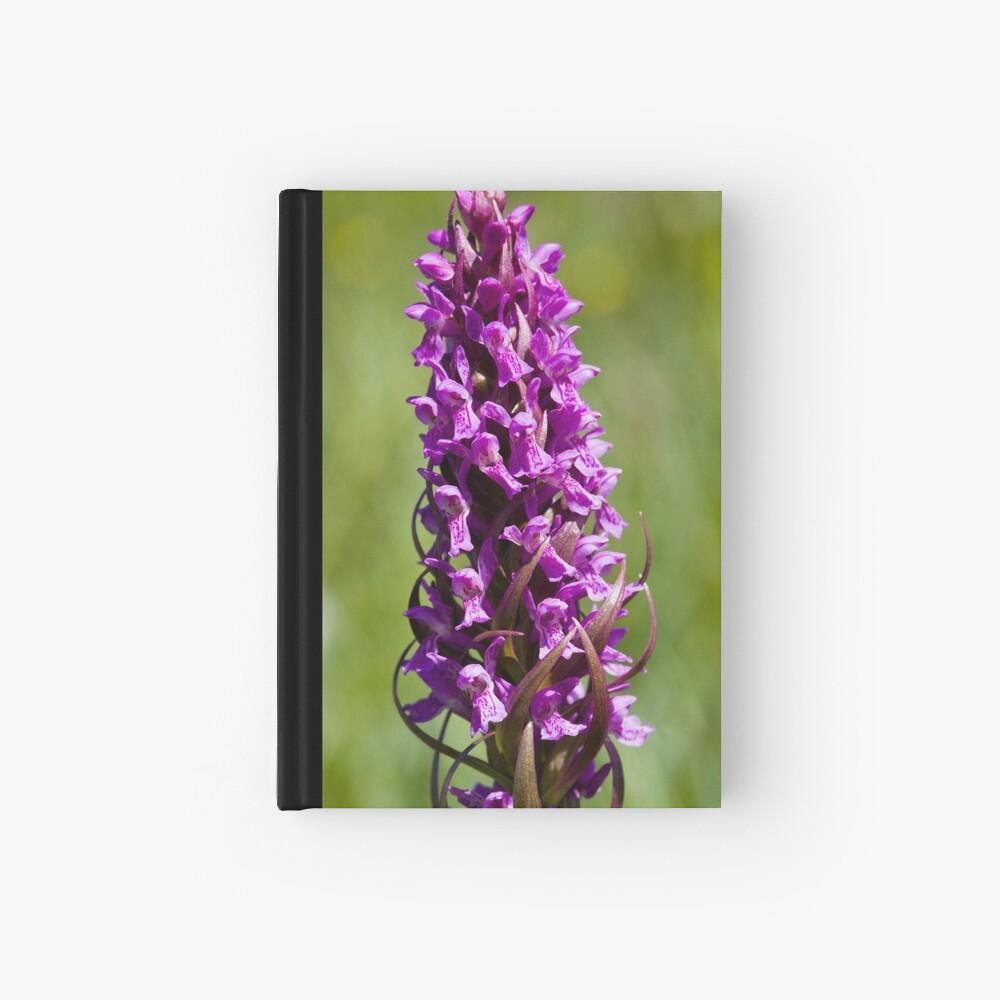 Early Marsh Orchid (Dactylorhiza incarnata) Hardcover Journal
