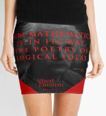 Minifalda Citas de: Albert Einstein sobre poesía - Póster, camiseta, adhesivo y regalos
