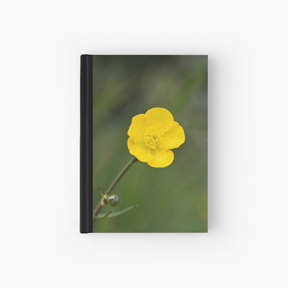Meadow Buttercup (Ranunculus acris) Hardcover Journal