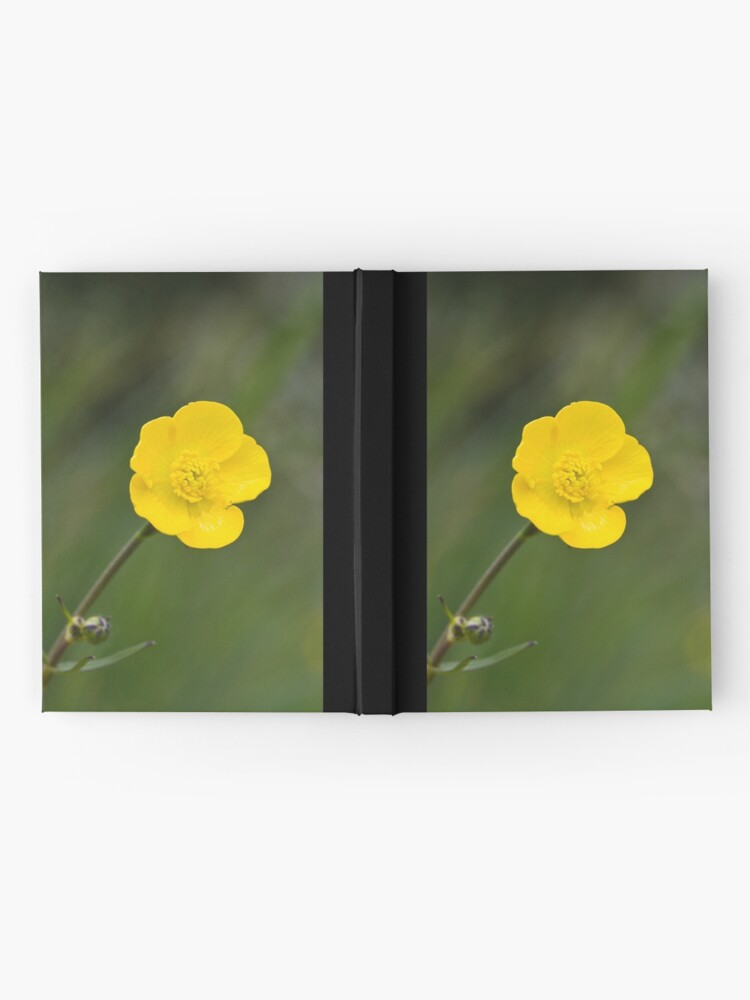 Alternate view of Meadow Buttercup (Ranunculus acris) Hardcover Journal