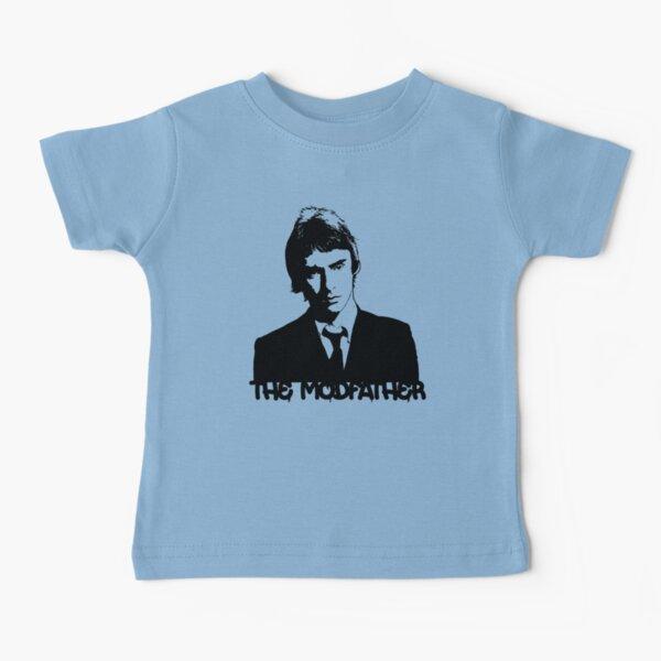 Paul Weller - The Modfather - Black Stencil Baby T-Shirt