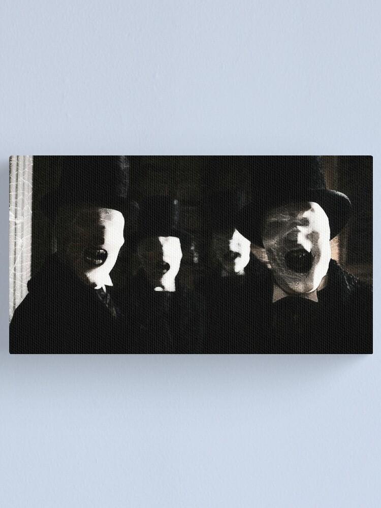 Alternate view of The Whisper Men Canvas Print