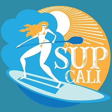 SUP CALI Paddleboarding by WEWEX