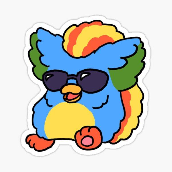 Cool Kid Cuisine Furby Sticker
