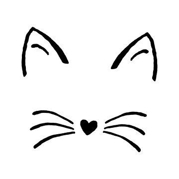 Cara de gato de redscarf