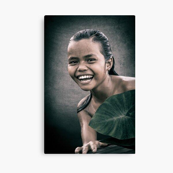 CAMPBODGE - SMILE Canvas Print
