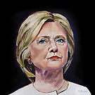 Hillary Rodham Clinton by TL Duryea