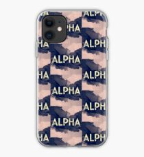 Greek Letter Alpha iPhone Case