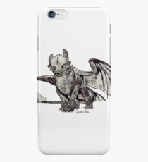 Toothless Sketch iPhone 6s Case