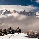 Italian Dolomites ready for winter season by zakaz86