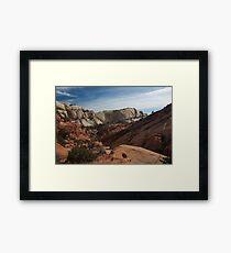 Muley Twist Canyon Framed Print