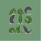 Kale Yoga by Huebucket