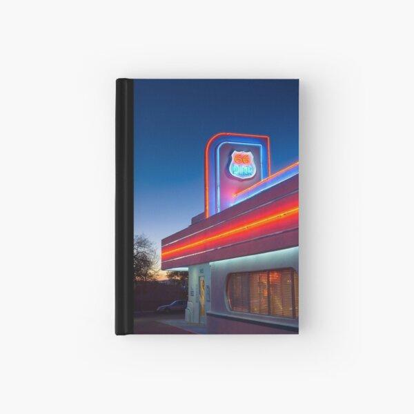 USA. New Mexico. Albuquerque. Route 66 Diner. Hardcover Journal