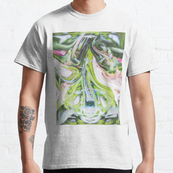 Abstract Expressionism Glitch 7254 Classic T-Shirt