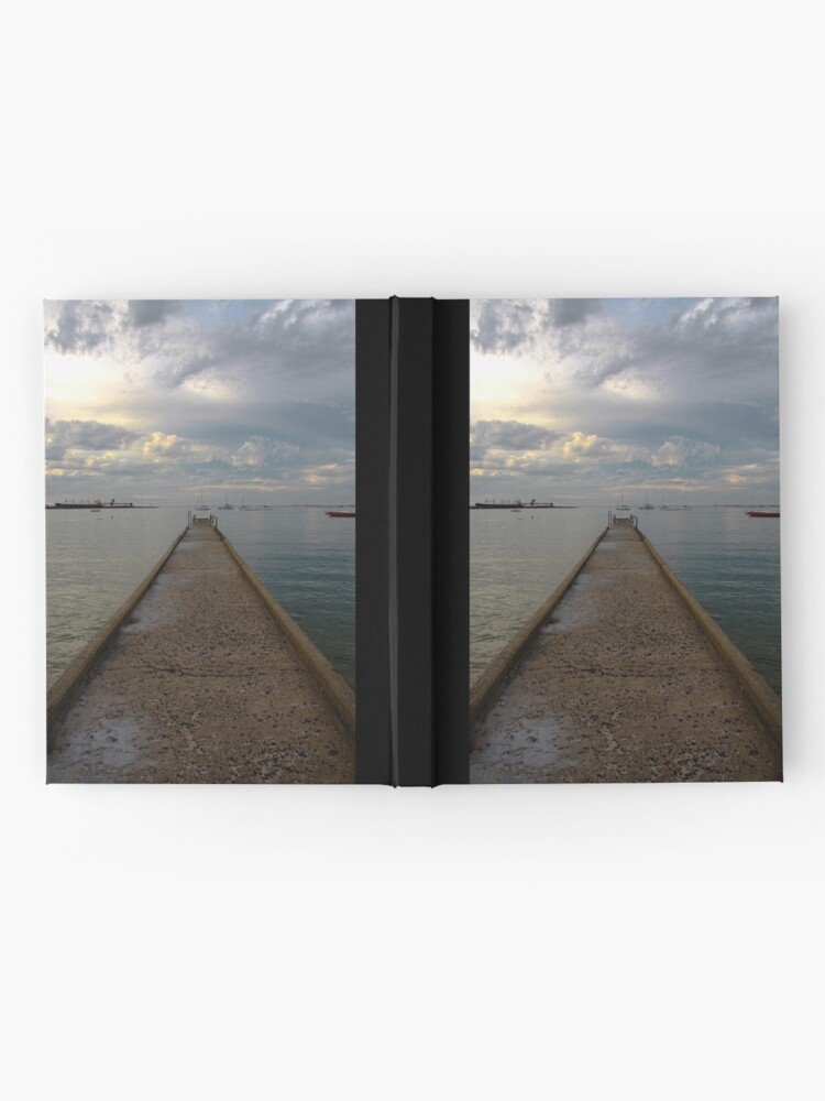 Alternate view of Old jetty Hardcover Journal