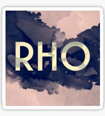 Greek Letter rho Sticker
