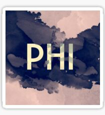 Greek Letter Phi Sticker