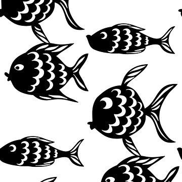 Black Fish by cartoonblog