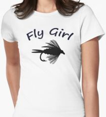 Fly Girl  - Infant One Piece Womens Fitted T-Shirt