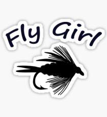 Fly Girl  - Infant One Piece Sticker
