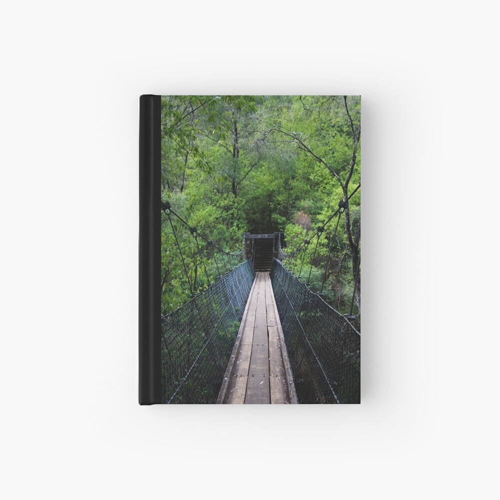 Don't look down... Hardcover Journal