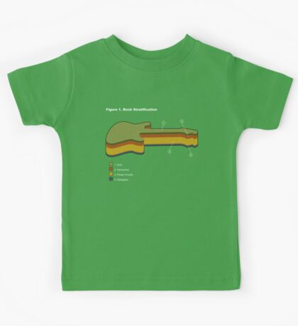 Rock Stratification Kids Clothes