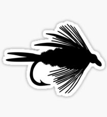 Simply Fly  - Fly Fishing T-shirt Sticker