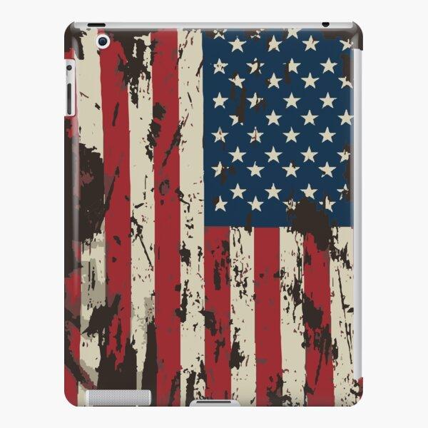 ★ Vintage Distressed USA Flag iPad Snap Case