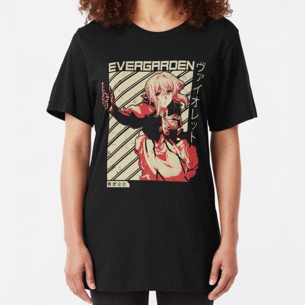 Violet Evergarden - Anime T Shirt Slim Fit T-Shirt
