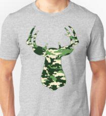 Camo Buck - Hunting T-shirt Unisex T-Shirt