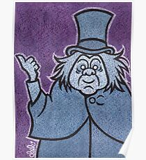 Phineas - Hitchhiking Ghost - The Haunted Mansion Poster