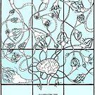 Reason (Neural Network) (Color) by LorraineRenee