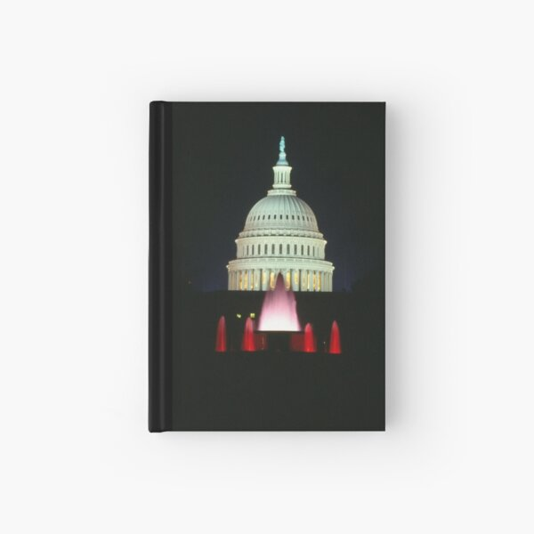 Capital Fountains Hardcover Journal