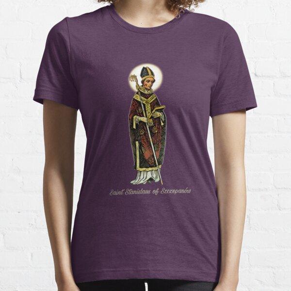 Saint Stanislaus of Szczepanów, the Martyr - english subtitle  Essential T-Shirt