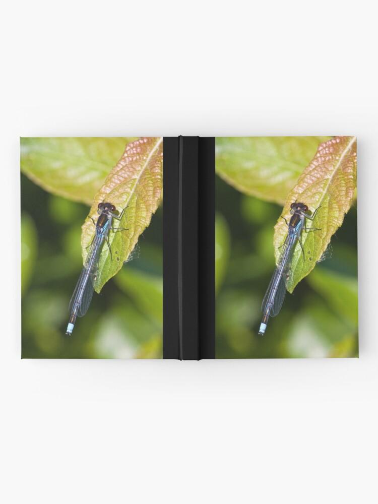 Alternate view of Red-eyed Damselfly (Erythromma najas) Hardcover Journal