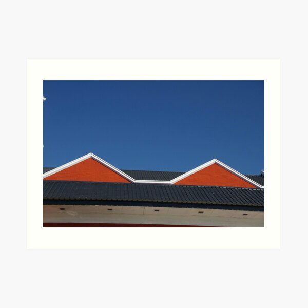 This Roof Inspired Madonna's Conical Bra Art Print