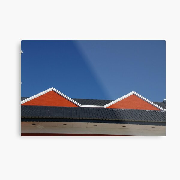 This Roof Inspired Madonna's Conical Bra Metal Print