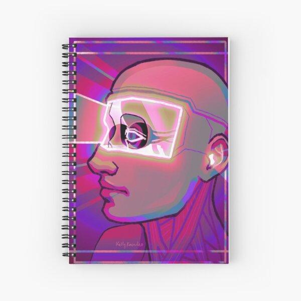 Screen Burn Spiral Notebook
