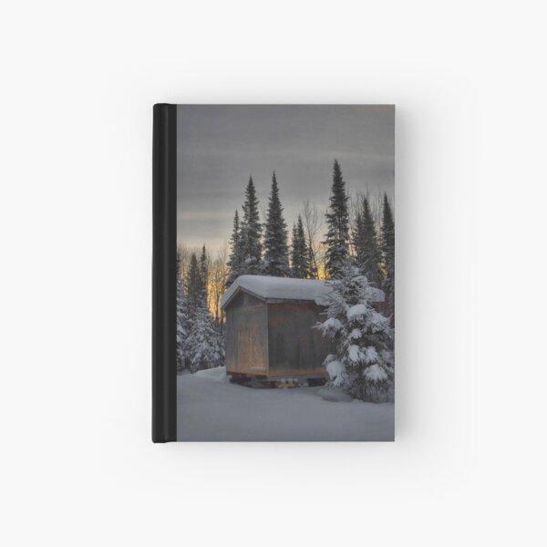 Winter Solitude Hardcover Journal