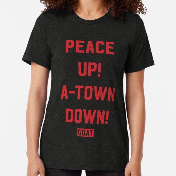 Peace Up A-Town Down Tri-blend T-Shirt