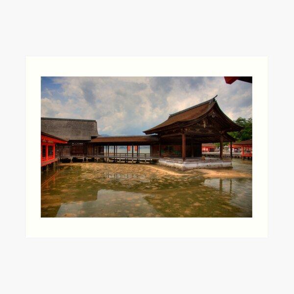 Water Shrine Art Print