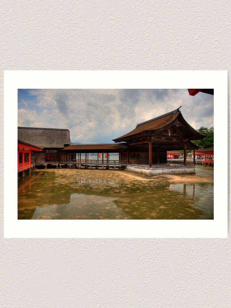 Alternate view of Water Shrine Art Print