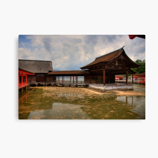 Water Shrine Canvas Print