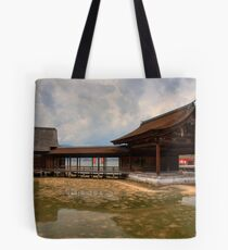 Water Shrine Tote Bag