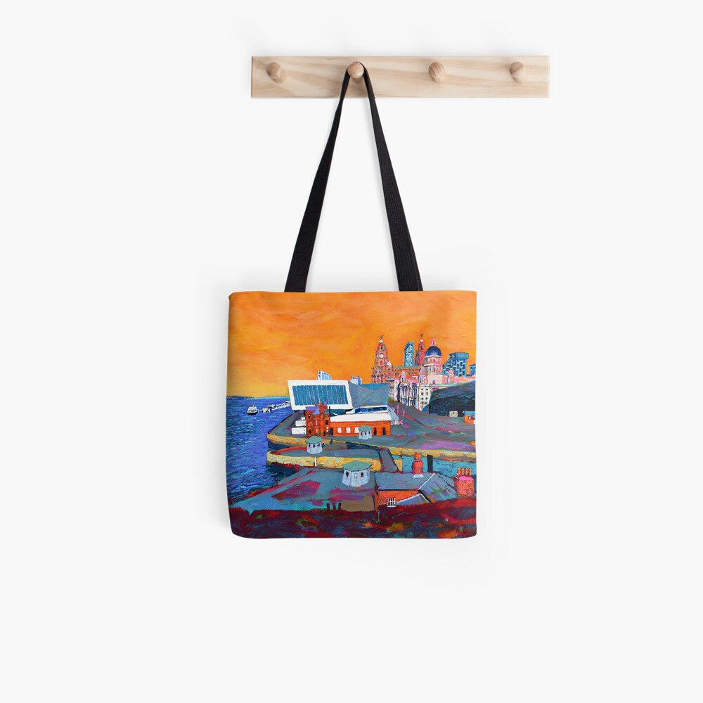 Liverpool: The Pier Head from the Tate Tote Bag