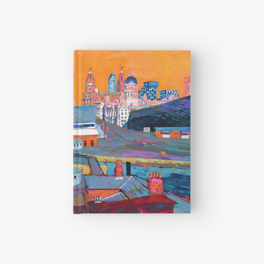 Liverpool: The Pier Head from the Tate Hardcover Journal