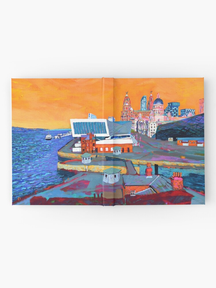 Alternate view of Liverpool: The Pier Head from the Tate Hardcover Journal