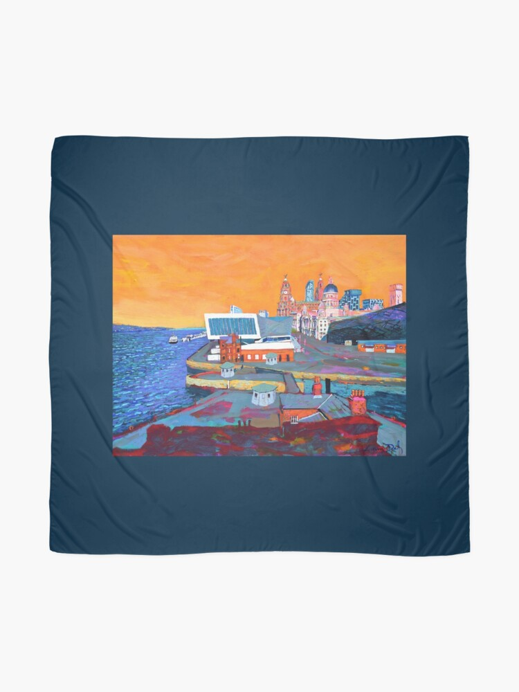 Alternate view of Liverpool: The Pier Head from the Tate Scarf