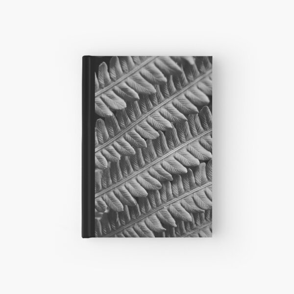 Fern Grey Hardcover Journal