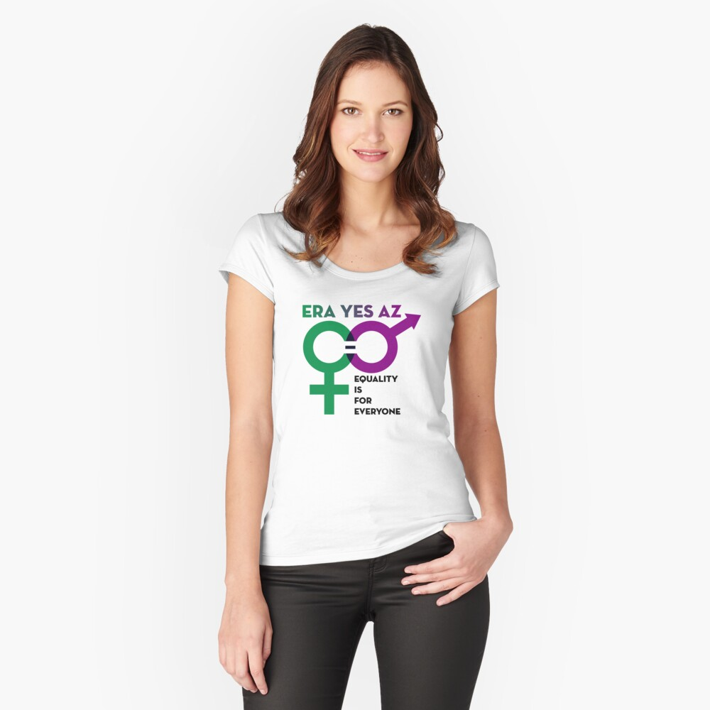 EQUALITY IS FOR EVERYONE Fitted Scoop T-Shirt